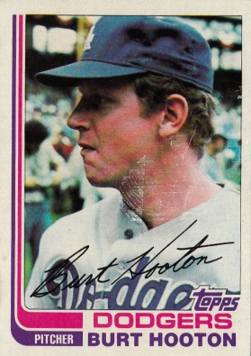 Burt Hooton, Dodgers Baseball Card