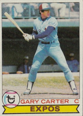 Expos 1979 Topps Gary Carter F