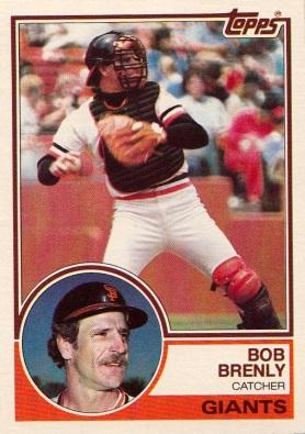 Giants 1983 Topps Bob Brenly F