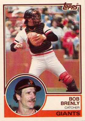 Giants 1983 Topps Bob Brenly F