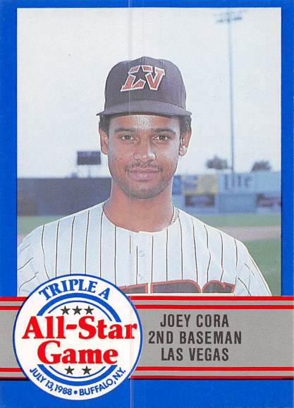 Joey Cora Minor League Card