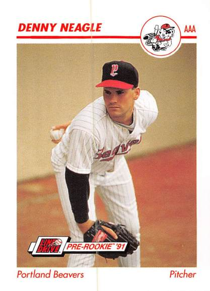 Denny Neagle Minor League Card