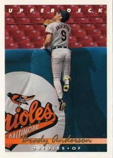 Orioles 1993 Upper Deck Brady Anderson F