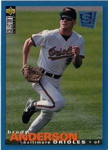 Orioles 1995 Upper Deck CC Brady Anderson F