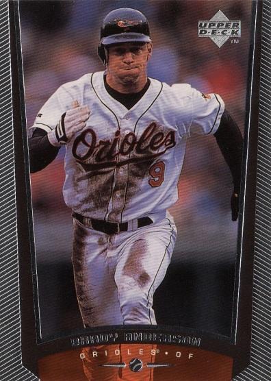 Orioles 1999 Upper Deck Brady Anderson F