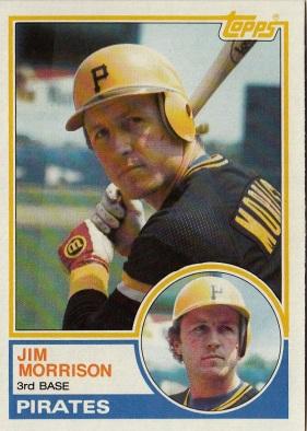 Jim Morrison 1983 Topps