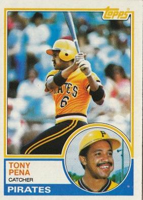 Tony Pena 1983 Topps