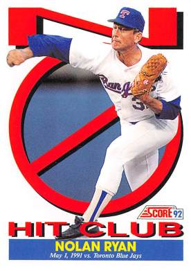 Nolan Ryan 7th Career No Hitter