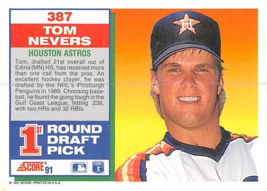 Tom Evers Rookie Card