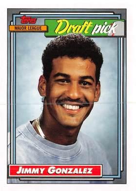 Jimmy Gonzalez Rookie Card