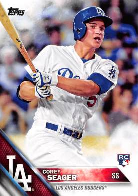 Corey Seager Rookie Card