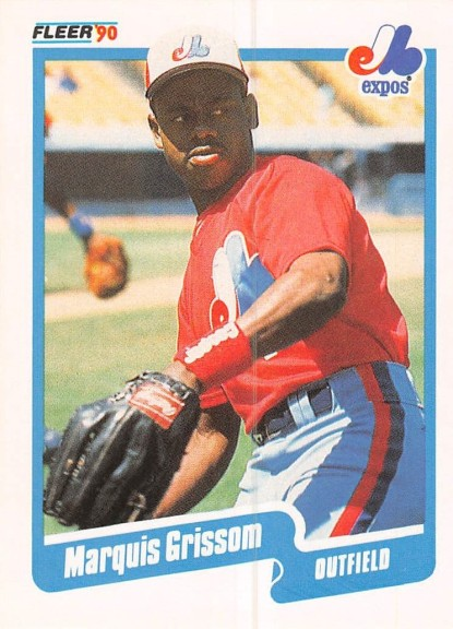 Marquis Grissom Rookie Card