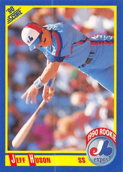 Jeff Huson Rookie Card
