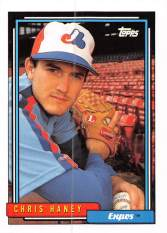 Chris Haney Rookie Card