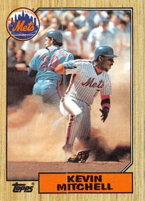 Kevin Mitchell Rookie Card