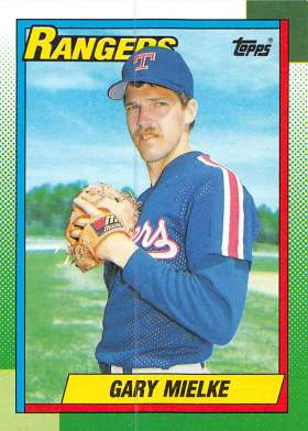 Gary Mielke Rookie Card