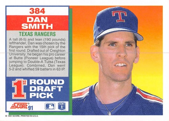 Dan Smith Rookie Card
