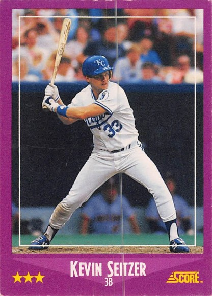 Kevin Seitzer Rookie Card