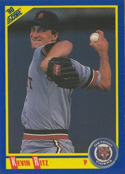 RC Tigers 1990 Score Kevin Ritz F