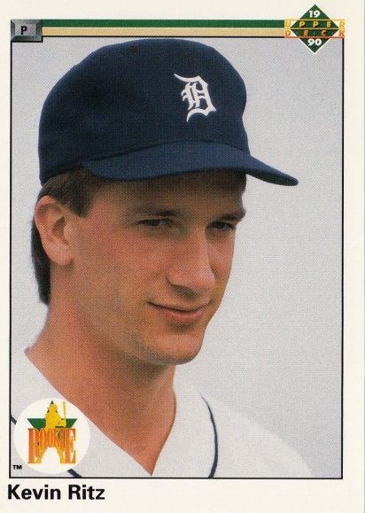 RC Tigers 1990 Upper Deck Kevin Ritz F