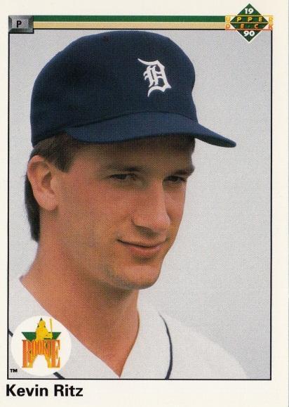 RC Tigers 1990 Upper Deck Kevin Ritz F