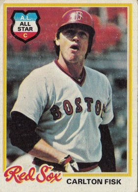Red Sox 1978 Topps Carlton Fisk AS F