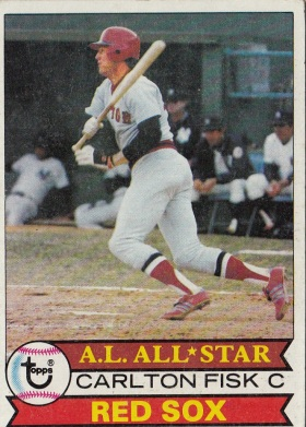 Red Sox 1979 Topps Carlton Fisk AS F