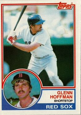 Red Sox 1983 Topps Glenn Hoffman F