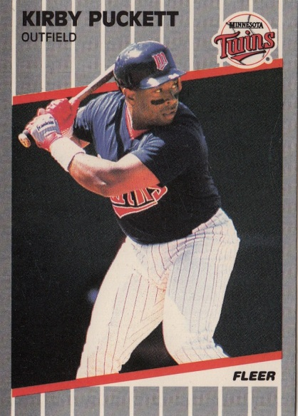 Twins 1989 Fleer Kirby Puckett F