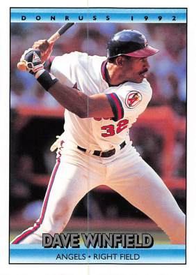 Dave Winfield 1992 Donruss