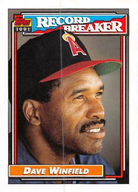 Dave Winfield 1992 Topps Highlight
