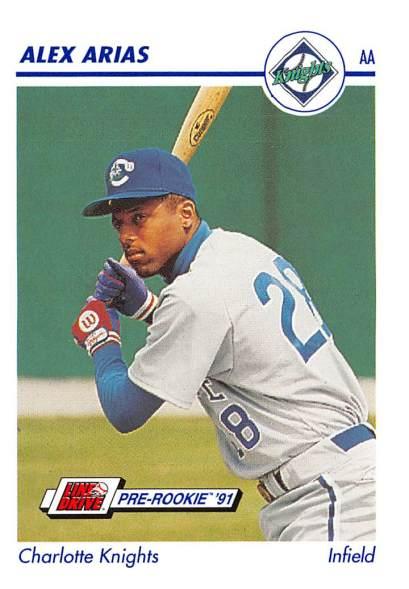 Alex Arias Minor League Card