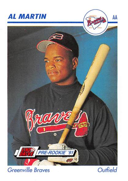 Al Martin Minor League Card