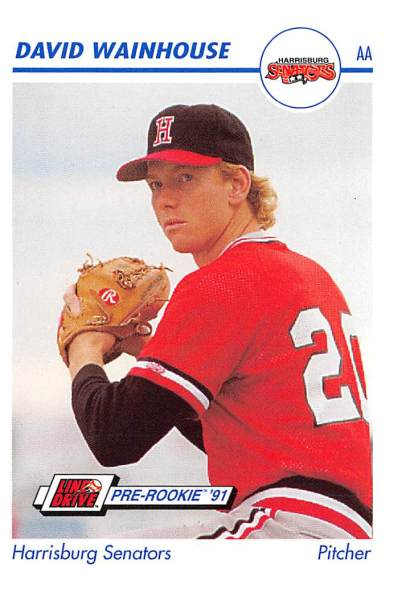 David Wainhouse Minor League Card