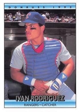 Ivan Rodriguez 1992 Donruss