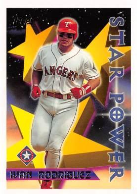 Rangers 1996 Topps Star Power Ivan Rodriguez F