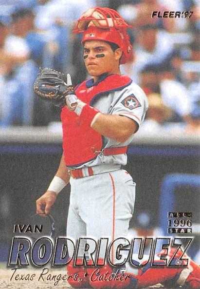 Rangers 1997 Fleer Ivan Rodriguez F