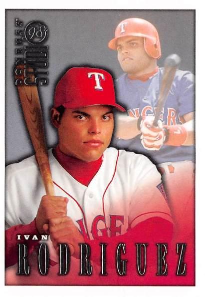 Rangers 1998 Donruss Studio Ivan Rodriguez F
