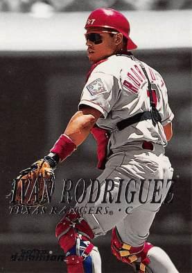 Ivan Rodriguez 2000 Fleer Skybox