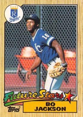 Bo Jackson Rookie Card