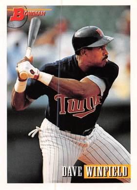 Dave Winfield 1993 Bowman