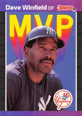 Dave Winfield 1989 Donruss MVP