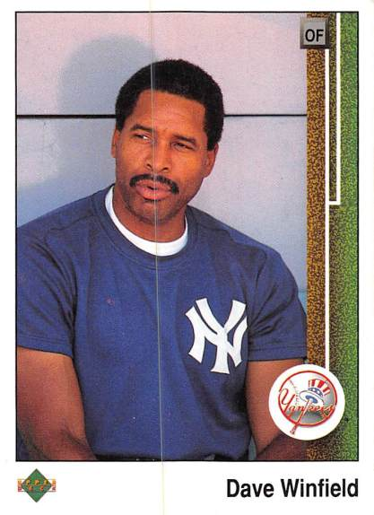 Dave Winfield 1989 Upper Deck